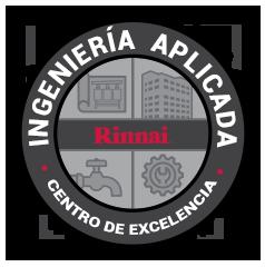 certificado de excelencia rinnai