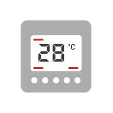 ventaja rinnai calefactores calefaccion termostato
